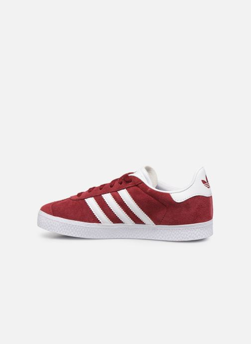 Baskets adidas originals Gazelle C Bordeaux vue face