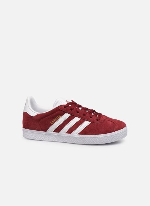 Trainers adidas originals Gazelle C Burgundy back view