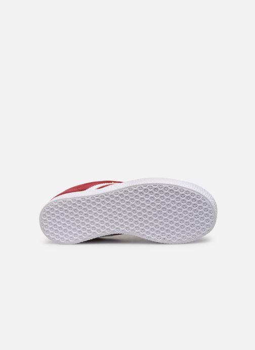 Sneaker adidas originals Gazelle C weinrot ansicht von oben