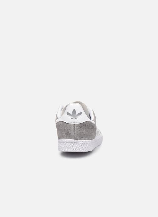 Sneakers adidas originals Gazelle C Grigio immagine destra
