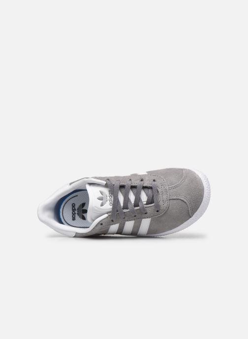 Sneakers adidas originals Gazelle C Grigio immagine sinistra