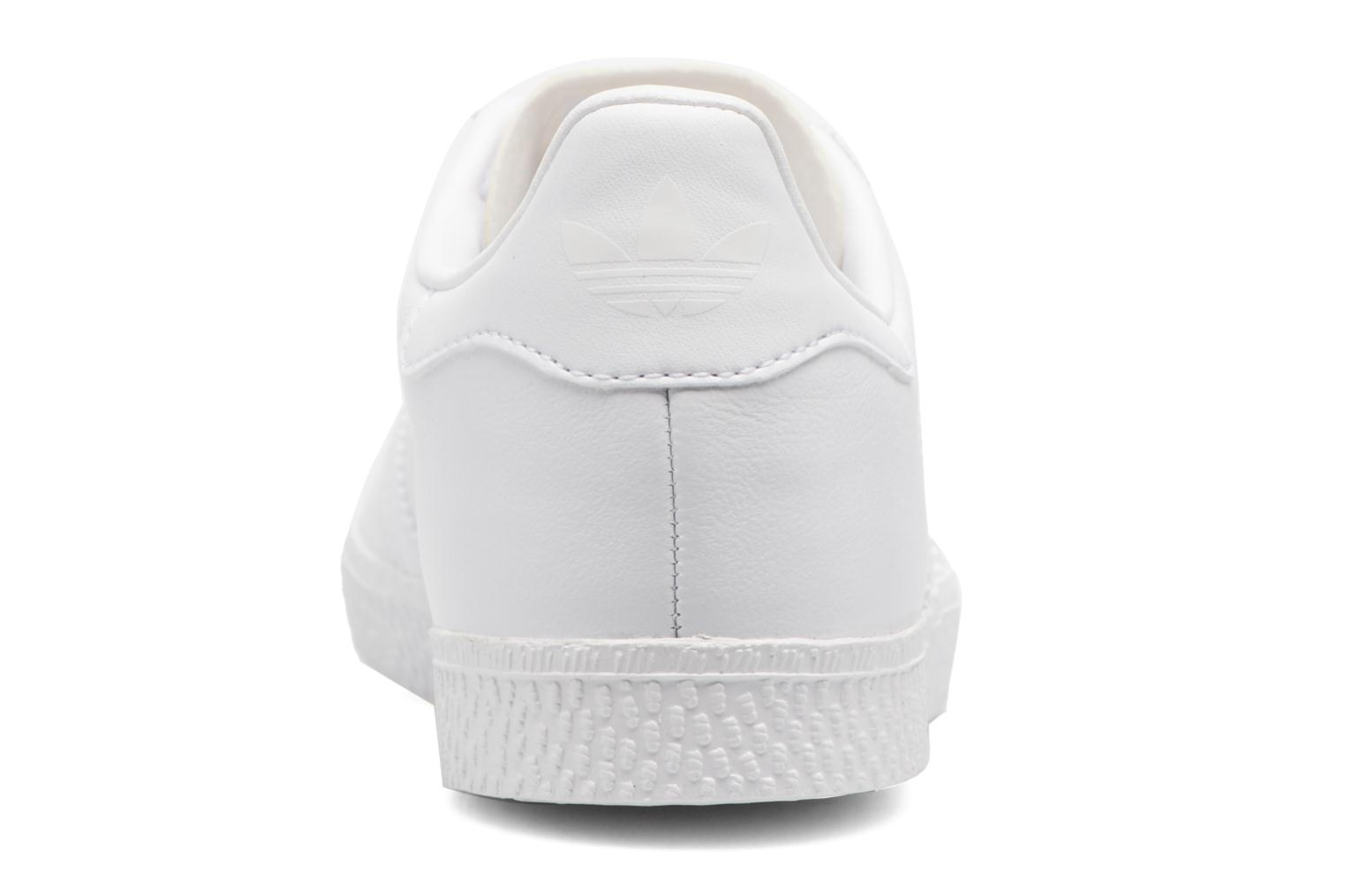 Baskets Adidas Originals Gazelle C Blanc vue droite