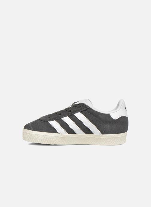 Sneaker adidas originals Gazelle I grau ansicht von vorne
