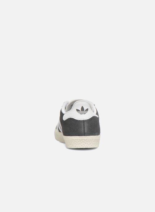 Sneaker adidas originals Gazelle I grau ansicht von rechts