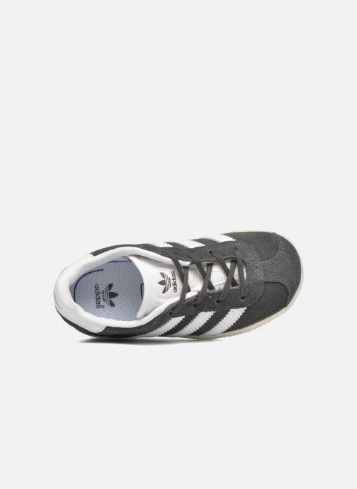Sneaker adidas originals Gazelle I grau ansicht von links