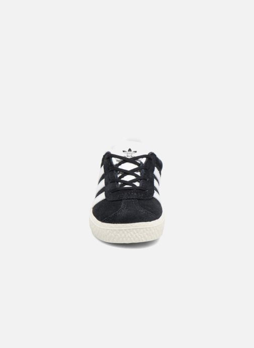 Baskets adidas originals Gazelle I Noir vue portées chaussures