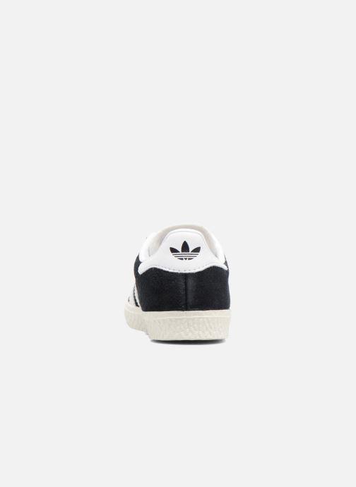 Baskets adidas originals Gazelle I Noir vue droite