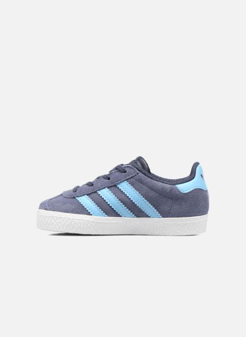 Sneaker Adidas Originals Gazelle I blau ansicht von vorne