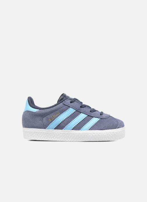 Sneaker Adidas Originals Gazelle I blau ansicht von hinten