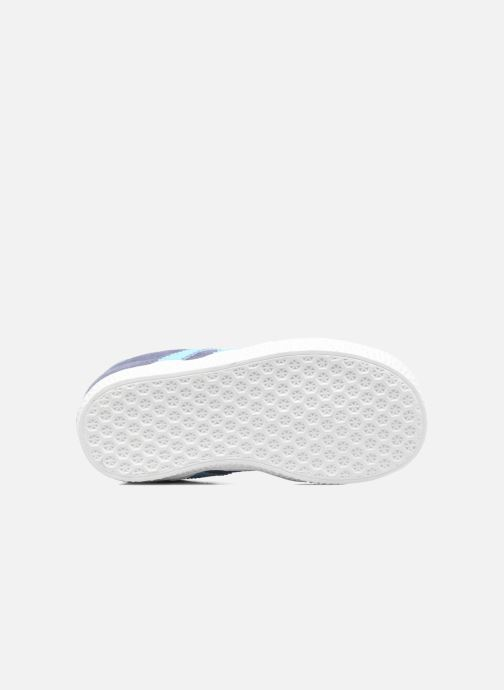 Sneaker Adidas Originals Gazelle I blau ansicht von oben