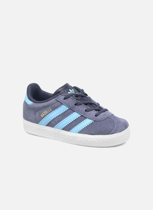 Sneaker Adidas Originals Gazelle I blau detaillierte ansicht/modell