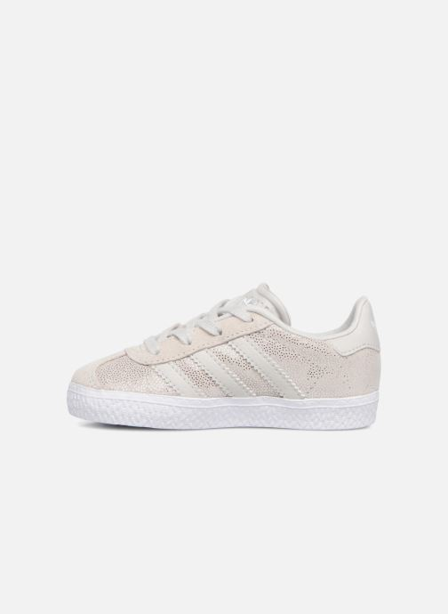 Baskets adidas originals Gazelle I Gris vue face