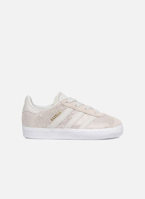 Baskets adidas originals Gazelle I Gris vue derrière