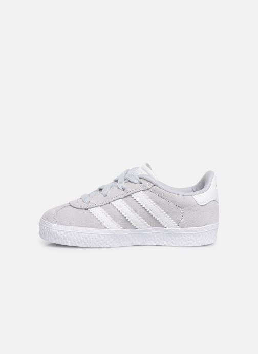Baskets adidas originals Gazelle I Bleu vue face