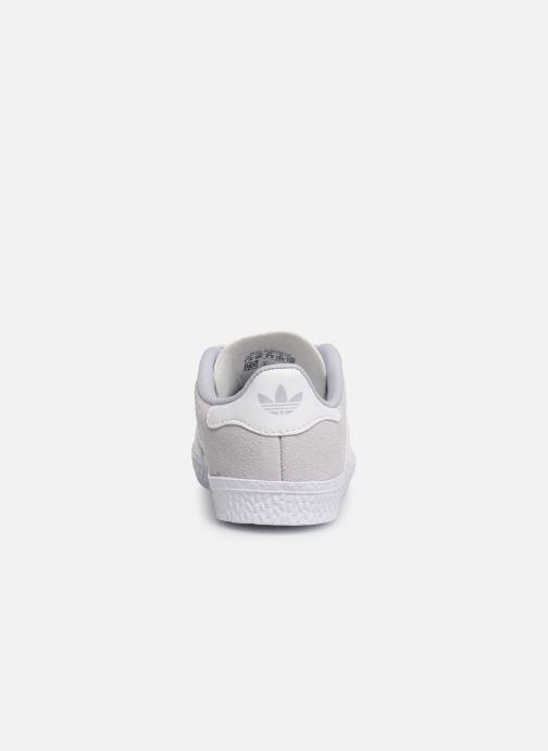 Sneaker adidas originals Gazelle I blau ansicht von rechts