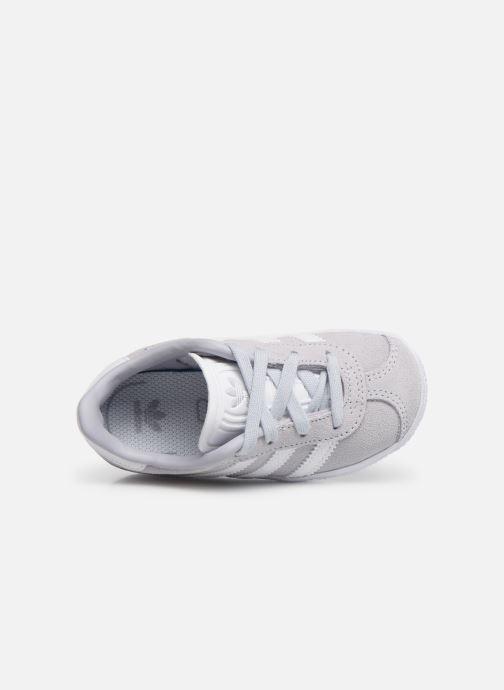 Sneaker adidas originals Gazelle I blau ansicht von links