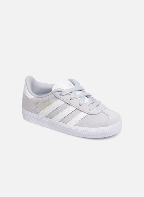 Baskets adidas originals Gazelle I Bleu vue détail/paire