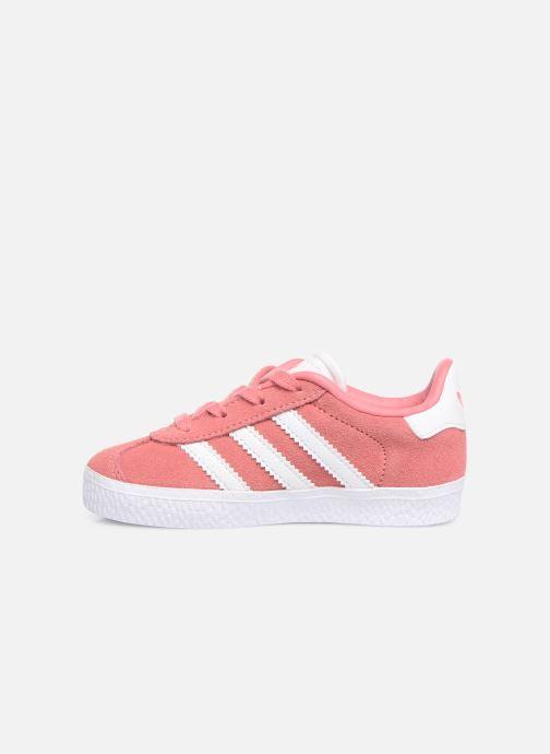 Sneakers adidas originals Gazelle I Roze voorkant