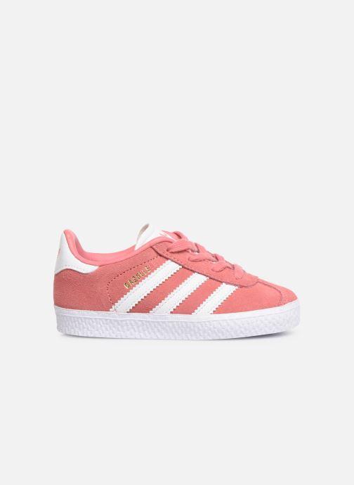 Trainers adidas originals Gazelle I Pink back view