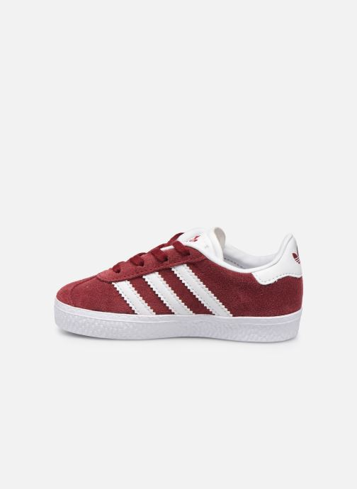 Baskets adidas originals Gazelle I Bordeaux vue face