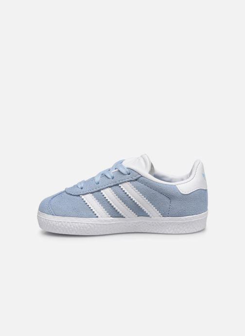 Deportivas adidas originals Gazelle I Azul vista de frente