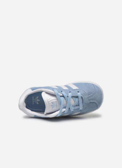 Deportivas adidas originals Gazelle I Azul vista lateral izquierda