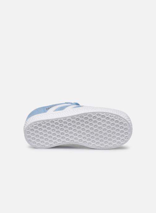 Sneakers adidas originals Gazelle I Azzurro immagine dall'alto