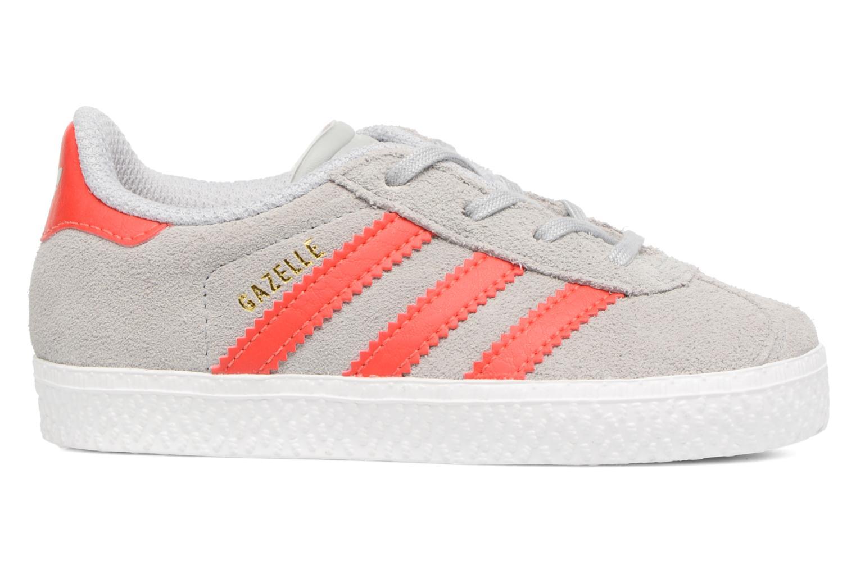 Sneakers Adidas Originals Gazelle I Grå se bagfra
