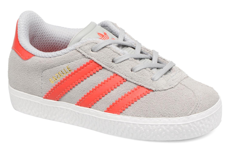 finest selection 1c2e5 3355b Sneakers Adidas Originals Gazelle I Grigio vedi dettaglio paio