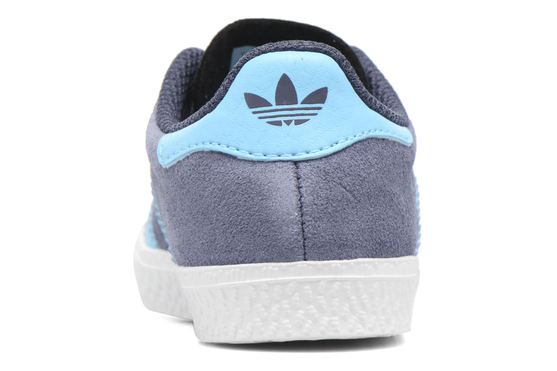 Sneakers Adidas Originals Gazelle I Azzurro immagine destra