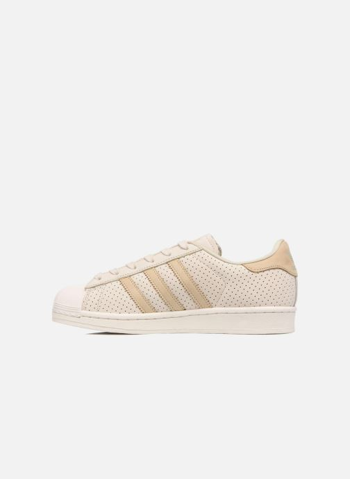 Sneakers adidas originals Superstar Fashion J Beige immagine frontale