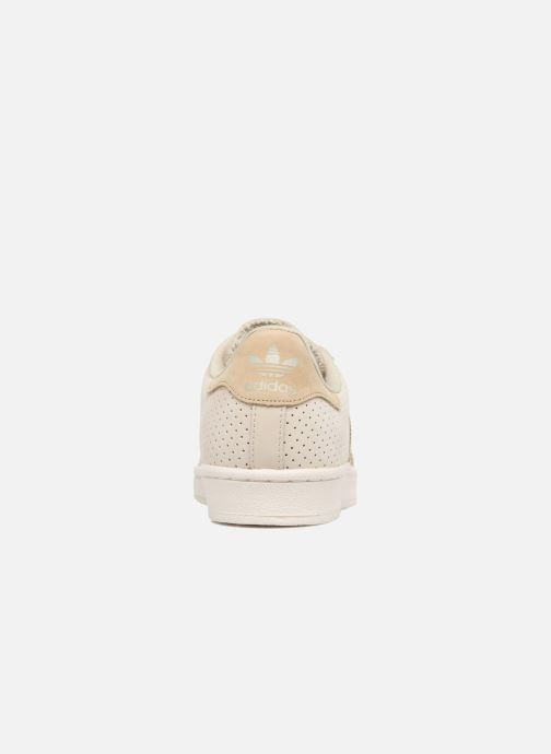 Trainers adidas originals Superstar Fashion J Beige view from the right