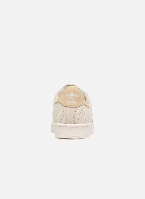 Sneakers adidas originals Superstar Fashion J Beige rechts