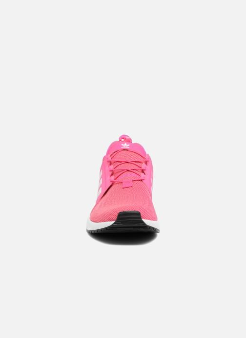 Sneakers adidas originals X_Plr J Rosa modello indossato