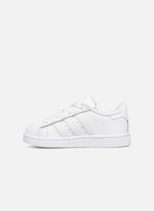 Sneaker adidas originals Superstar I weiß ansicht von vorne