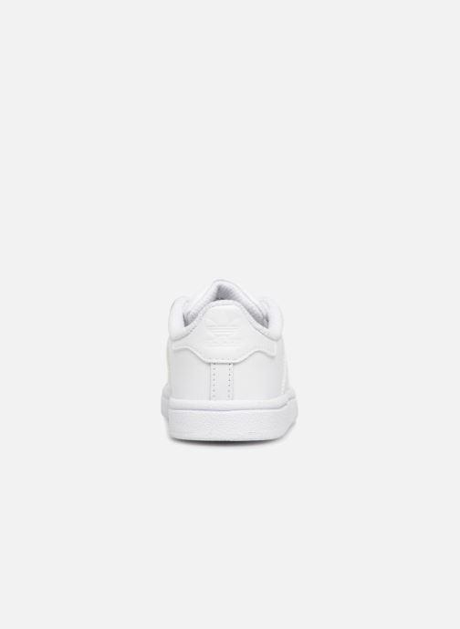 Sneaker adidas originals Superstar I weiß ansicht von rechts