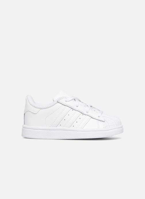 Sneaker adidas originals Superstar I weiß ansicht von hinten