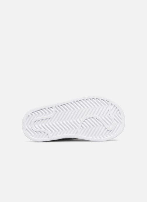 Sneaker adidas originals Superstar I weiß ansicht von oben