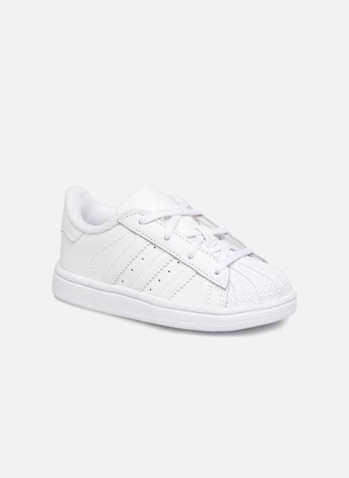 Sneaker adidas originals Superstar I weiß detaillierte ansicht/modell
