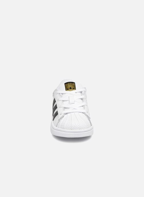 Deportivas adidas originals Superstar I Blanco vista del modelo