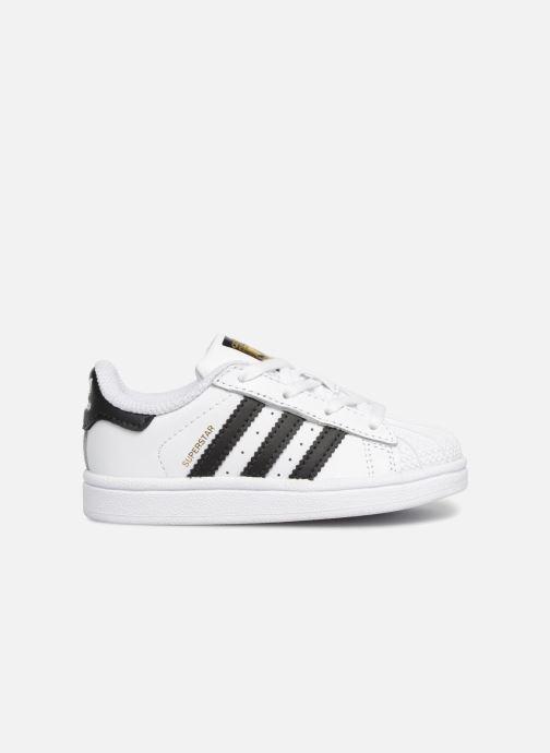 Baskets adidas originals Superstar I Blanc vue derrière