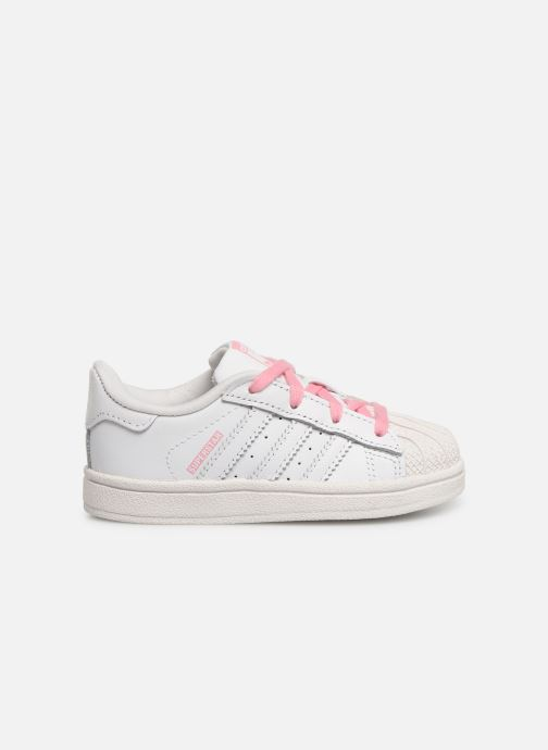 Trainers adidas originals Superstar I White back view