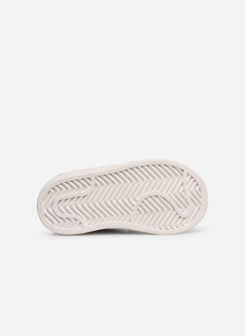 Baskets adidas originals Superstar I Blanc vue haut