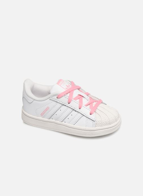 Trainers adidas originals Superstar I White detailed view/ Pair view