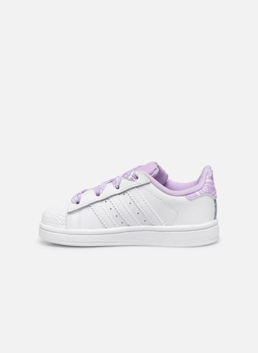 Sneakers adidas originals Superstar I Wit voorkant