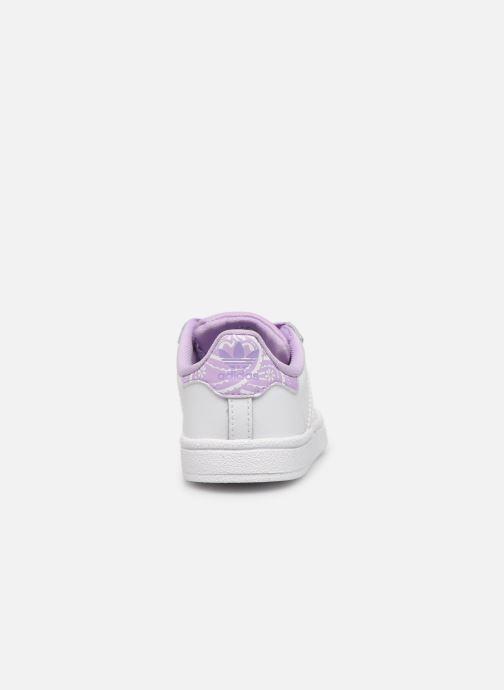 Sneakers adidas originals Superstar I Wit rechts