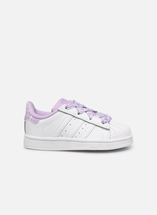 Sneakers adidas originals Superstar I Wit achterkant
