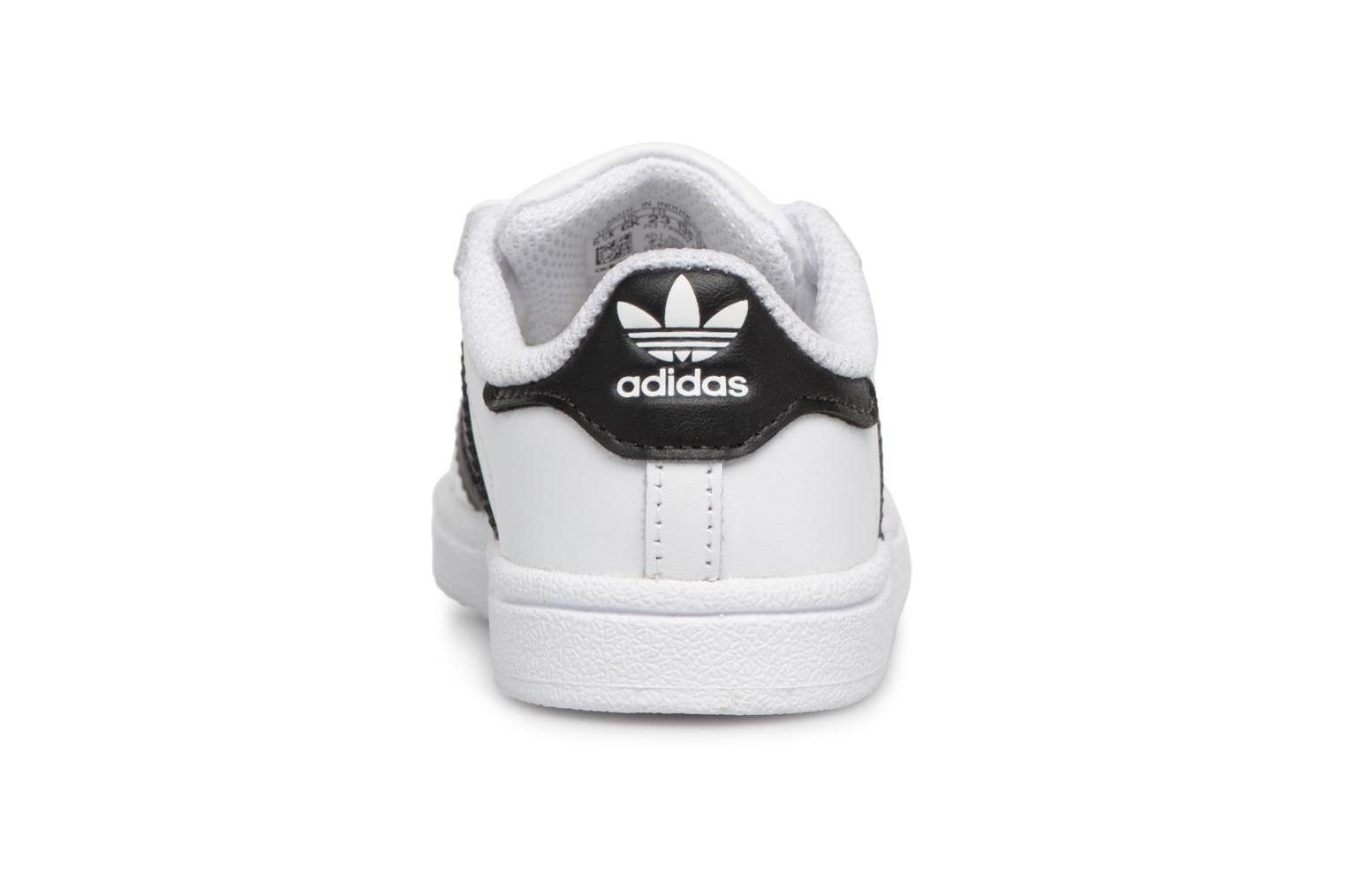 Baskets Adidas Originals Superstar I Blanc vue droite