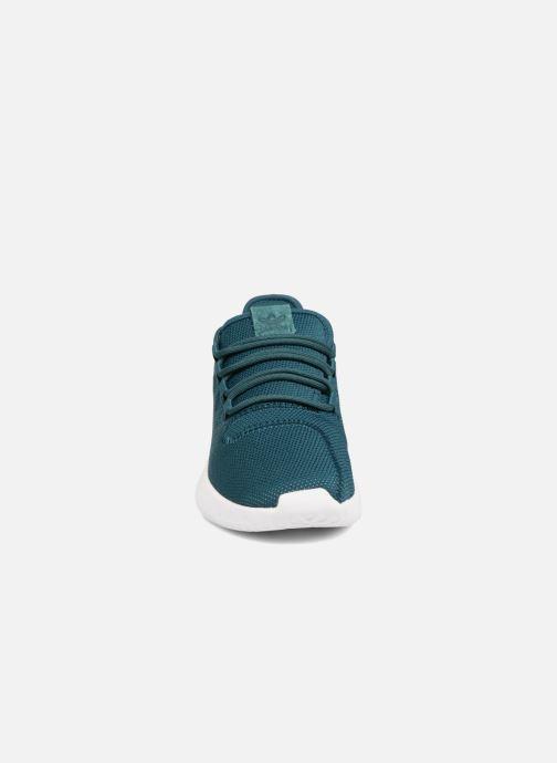 Sneaker Adidas Originals Tubular Shadow J grün schuhe getragen