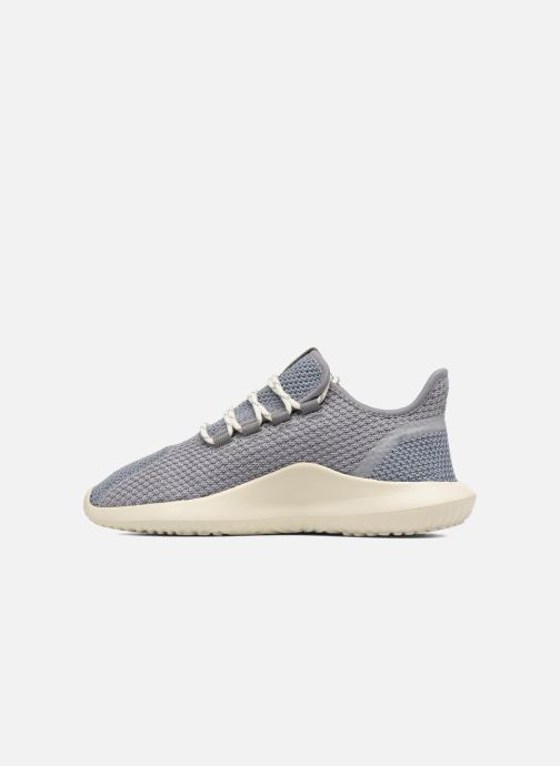 Baskets adidas originals Tubular Shadow J Gris vue face